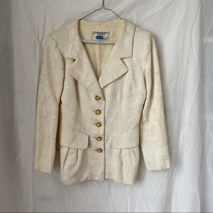 Vintage Yves Saint Laurent two piece suit